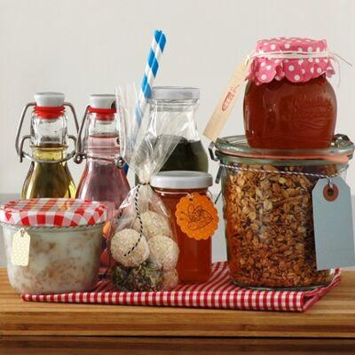 Verpackungen und Etiketten für Geschenke aus der Küche ...