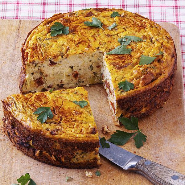 Gemuse Quark Kuchen Rezept Kuchengotter