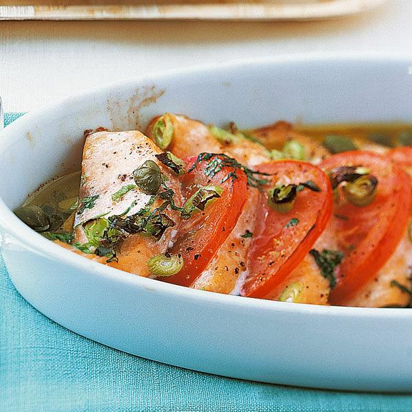 Lachs Mit Tomaten Rezept Küchengötter