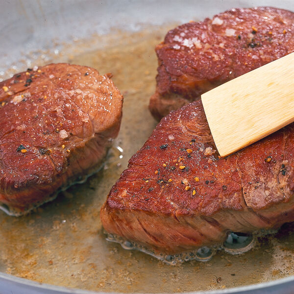 Buttrige Rinderfiletsteaks Rezept Küchengötter
