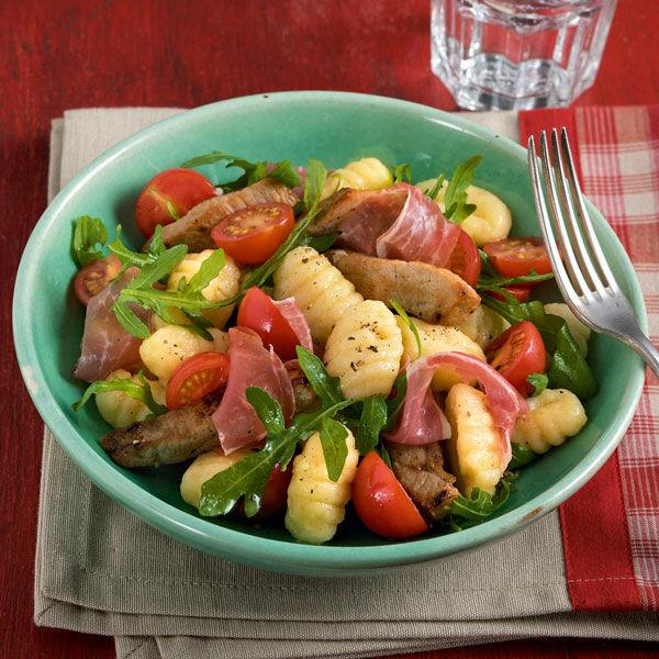 kalbfleisch-gnocchi-salat rezept | küchengötter - Küchengötter Schlank Im Schlaf