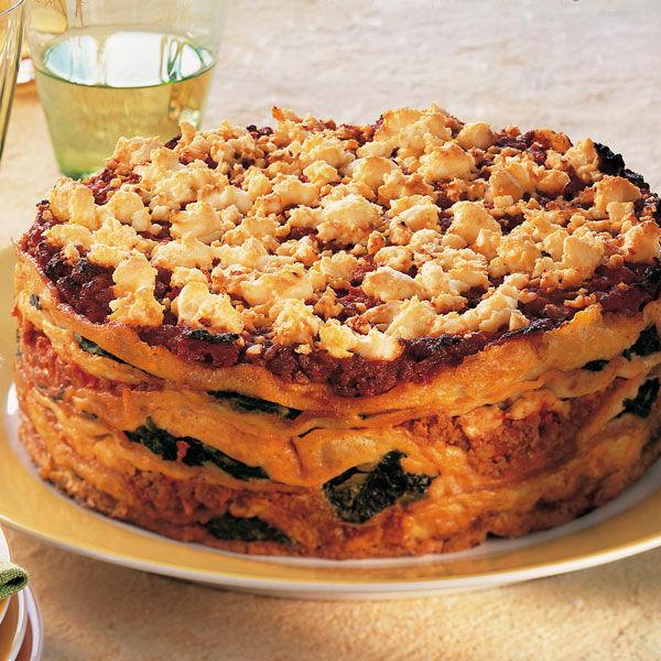 Pfannkuchen Spinat Torte Rezept Kuchengotter