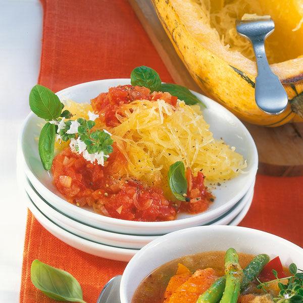 Tomatino Spaghettikurbis Rezept Kuchengotter