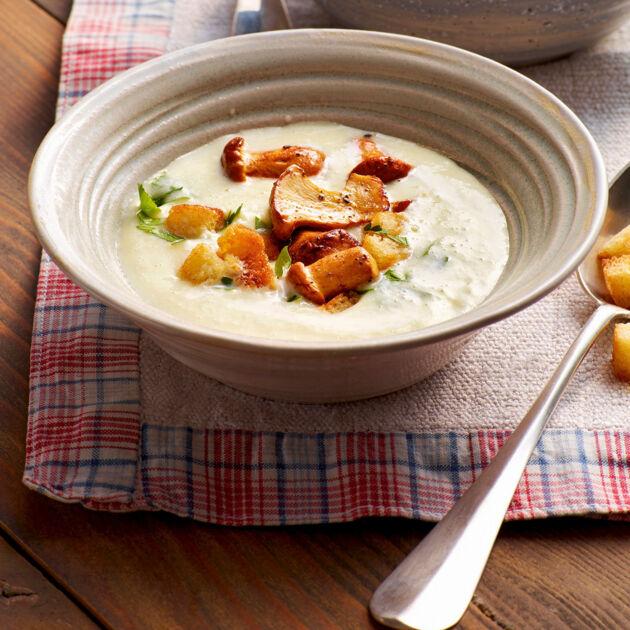 Pfifferling-Cremesuppe Rezept | Küchengötter
