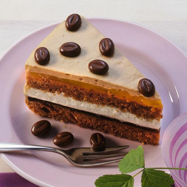 Kaffee Mango Torte