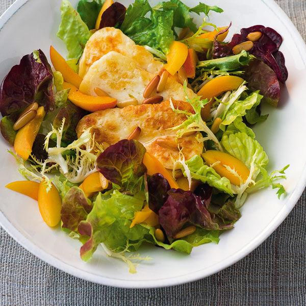 aprikosen salat mit honig dressing rezept k cheng tter. Black Bedroom Furniture Sets. Home Design Ideas