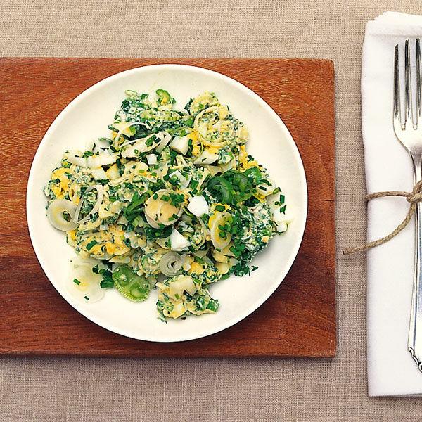 Eier schnittlauch salat rezept k cheng tter - Eier kochen dauer ...
