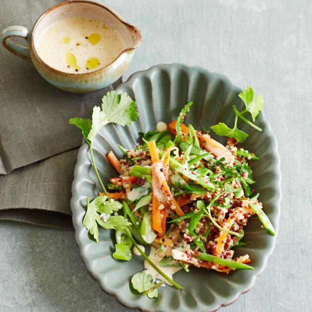 Lieblings Quinoa-Kräuter-Salat mit Miso-Dressing Rezept   Küchengötter &IP_06
