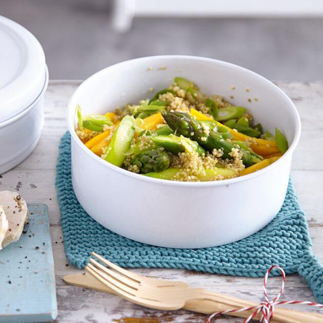 Quinoa-Salat mit Huhn Rezept | Küchengötter