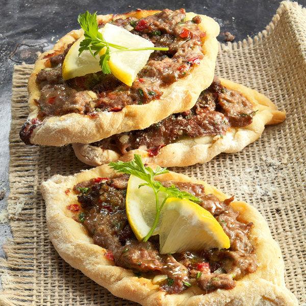 Libanesische Küche   Libanesische Lammfladen Rezept Kuchengotter