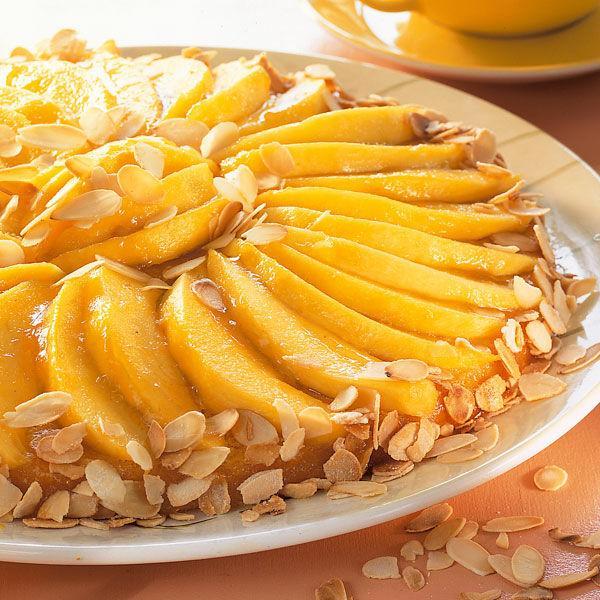 Orangen Mangokuchen Rezept Kuchengotter