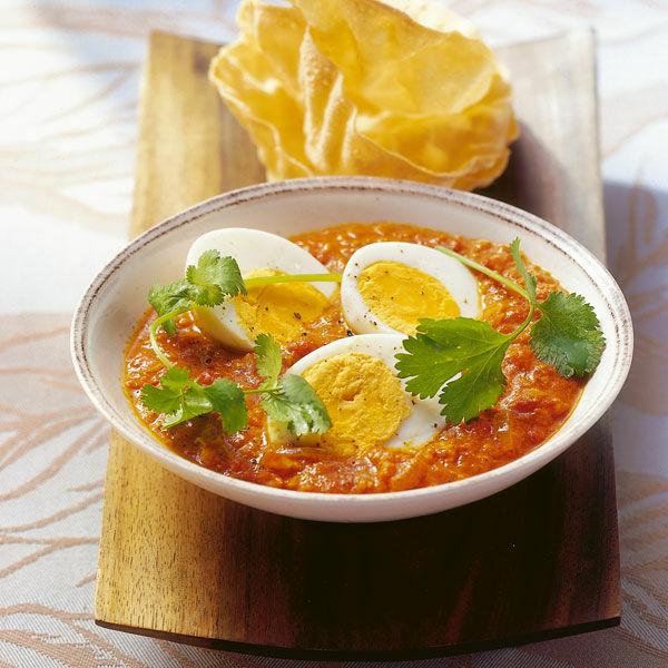 Eier curry rezept k cheng tter - Eier hart kochen dauer ...