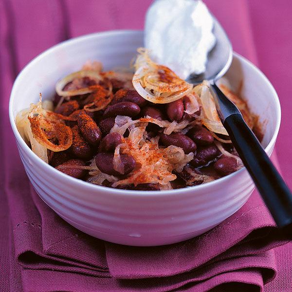 Scharfe Kidneybohnen Mit Sauerkraut Rezept Kuchengotter