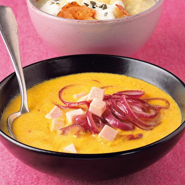 Gelbe Bilder gelbe paprikasuppe rezept küchengötter