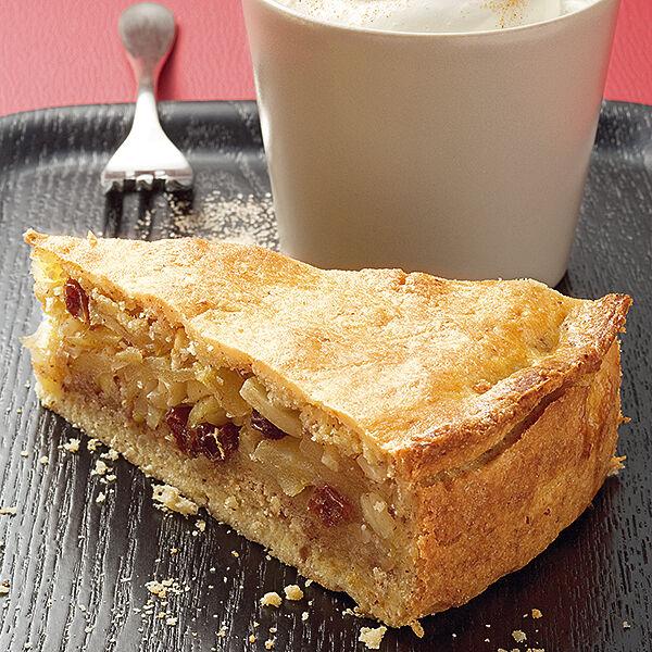 Gedeckter Apfelkuchen Mit Rosinen Rezept Kuchengotter