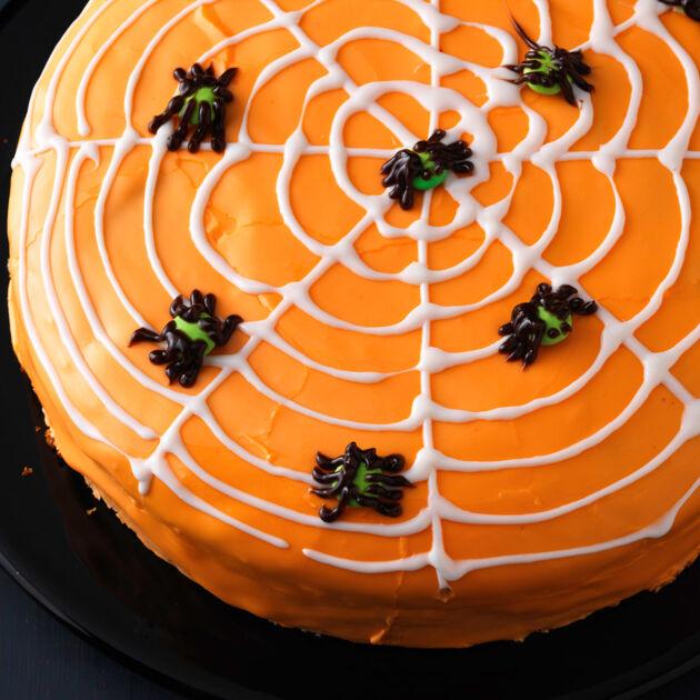 Spinnennetztorte Rezept Kuchengotter