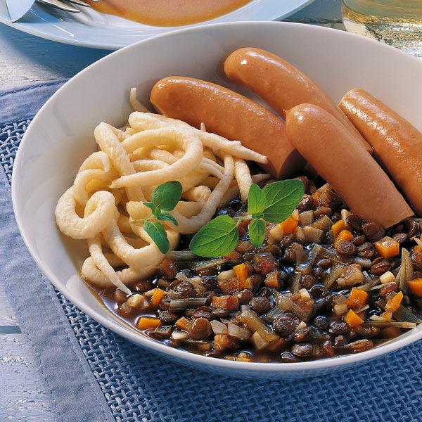 Saure Linsen Rezept Küchengötter