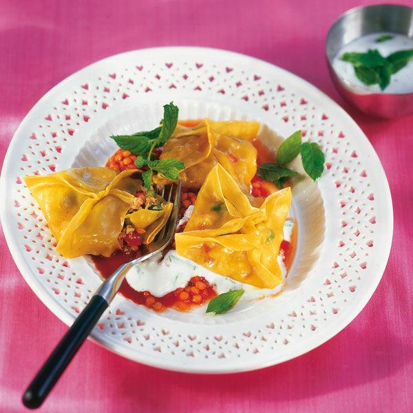 Rezepte Afghanische Küche Mantu | Spinat Soja Mantu Rezept Kuchengotter