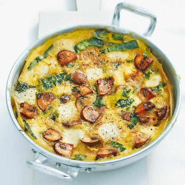 pilz omelett mit mozzarella rezept k cheng tter. Black Bedroom Furniture Sets. Home Design Ideas