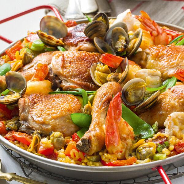 Spanische Paella Rezept | Küchengötter