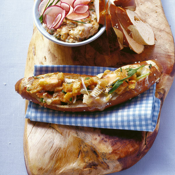 Heißer Bayern Toast Rezept Küchengötter