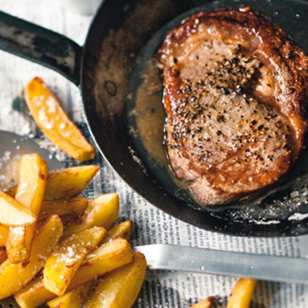 Steak Frites Steak Mit Pommes Frites Rezept Küchengötter
