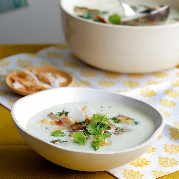 kokos kartoffel suppe mit shiitake rezept k cheng tter. Black Bedroom Furniture Sets. Home Design Ideas