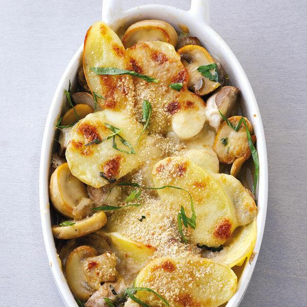 Kartoffel Pilz Auflauf Rezept Küchengötter