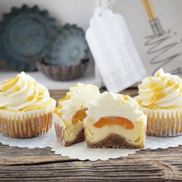 Aprikosen Cheese Cupcakes Rezept Kuchengotter