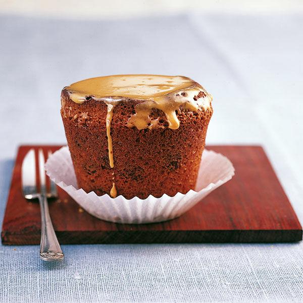 Schoko Karamell Muffins Rezept Kuchengotter