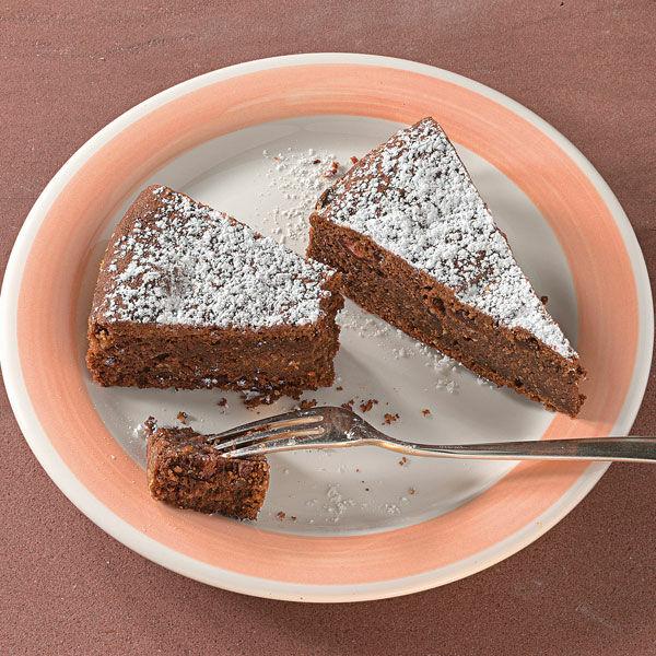 Schokoladenkuchen mit 2 eier