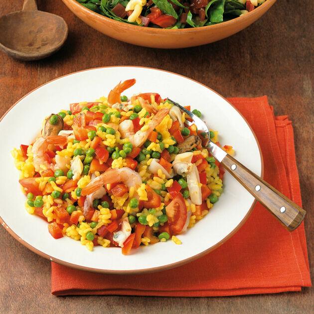 paella-salat rezept | küchengötter - Küchengötter Schlank Im Schlaf