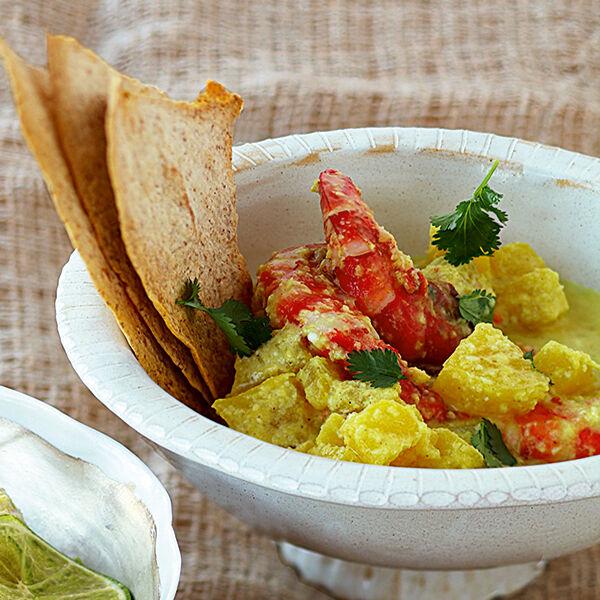 ananas garnelen curry rezept k cheng tter. Black Bedroom Furniture Sets. Home Design Ideas