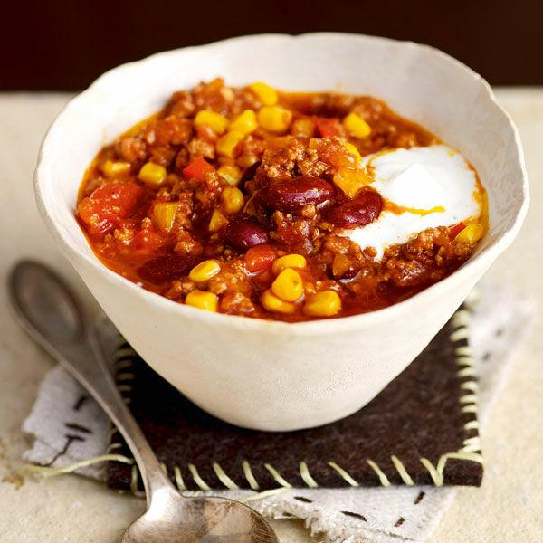 Chili Con Carne Mit Kakao Und Maisgriess Rezept Küchengötter