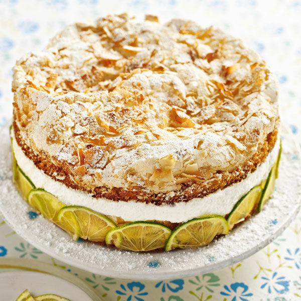 Limetten Kokos Torte Rezept Kuchengotter