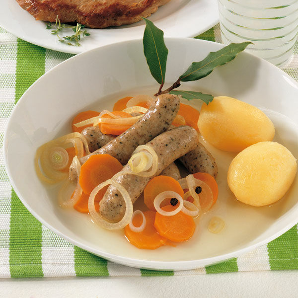 Fränkische Bratwürstchen: Saure Zipfel Rezept | Küchengötter