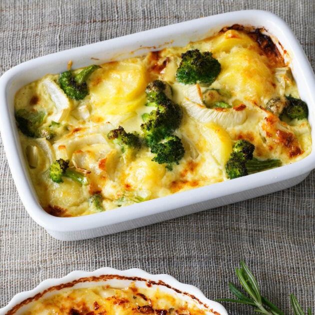 Vegetarischer Gemuseauflauf Mit Fenchel Brokkoli Rezept Kuchengotter