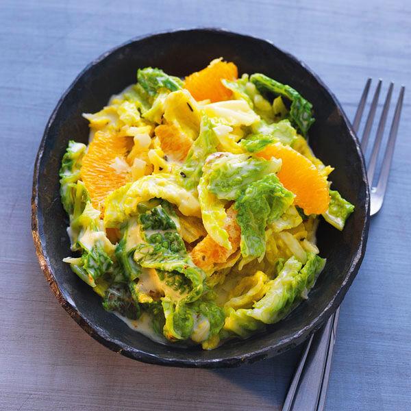 Orangen-Wirsing Rezept | Küchengötter