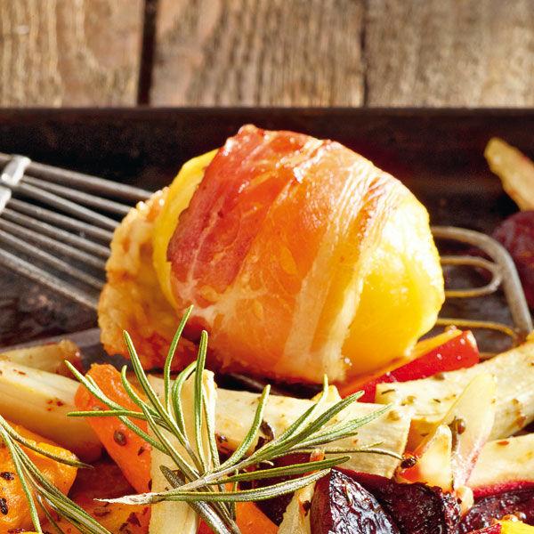 Speck Raclette Kartoffeln Aus Dem Ofen Rezept Küchengötter