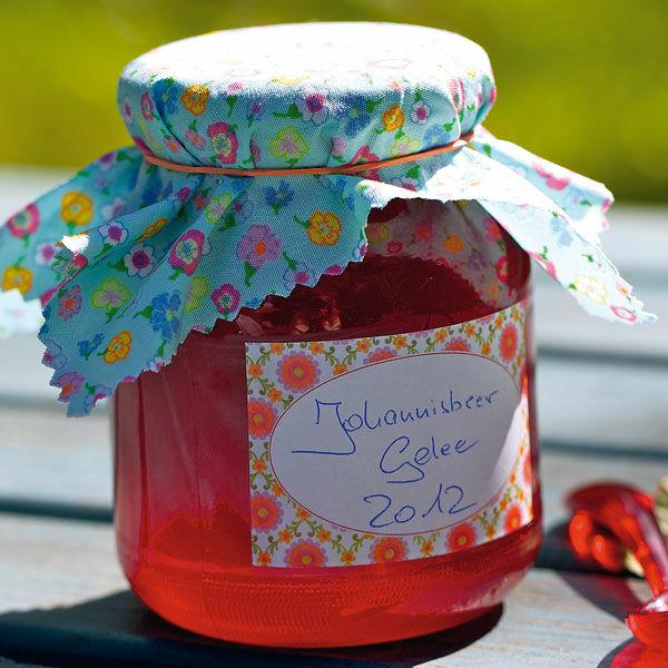 Rotes Johannisbeergelee Rezept Einmachen Kuchengotter