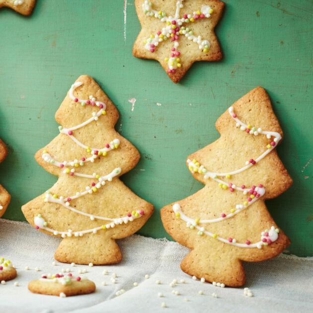 Rezepte Für Weihnachtsplätzchen.Vegane Weihnachtsplätzchen