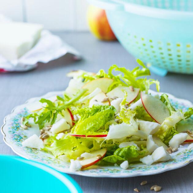 salat mit ziegenk se rezept k cheng tter. Black Bedroom Furniture Sets. Home Design Ideas