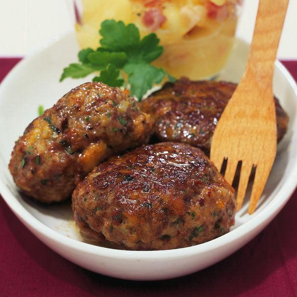 Bayerische Fleischpflanzerl Rezept | Küchengötter