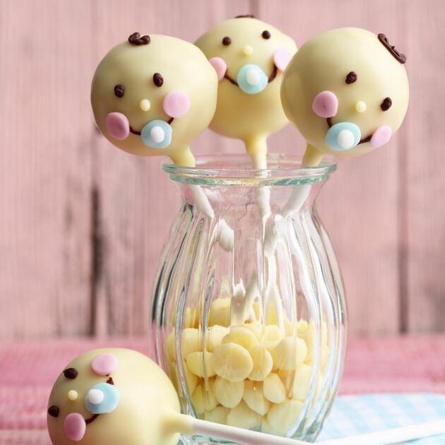 Babyshower Cake Pops Rezept Kuchengotter