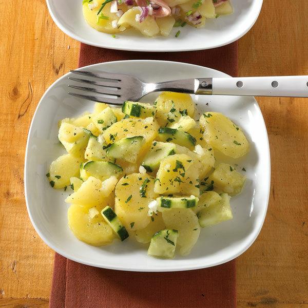 Bayerischer Kartoffelsalat Rezept Küchengötter