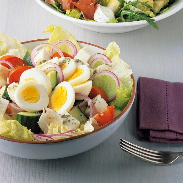 Griechischer salat ei