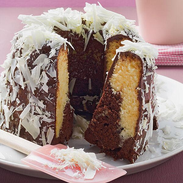 Marmorkuchen Mit Weisser Schokolade Rezept Kuchengotter