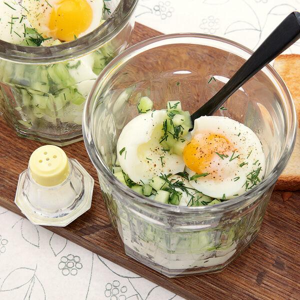 Rezepte zwei eier im glas