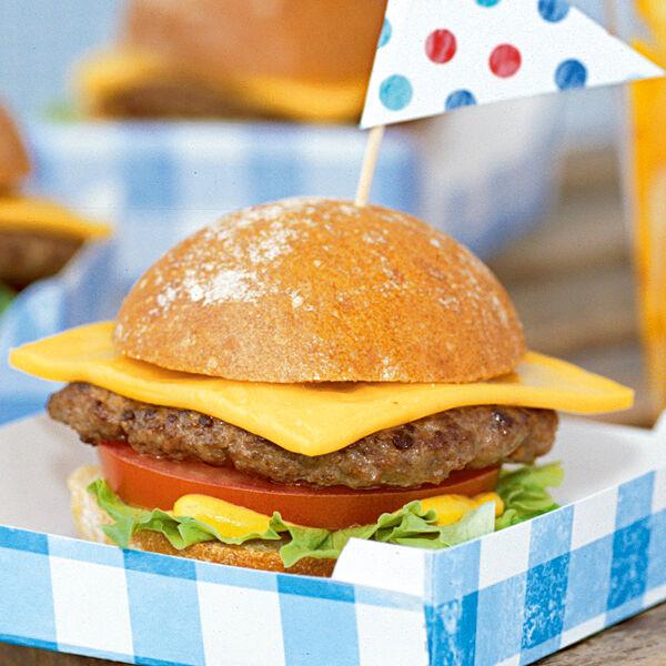 mini cheeseburger rezept k cheng tter. Black Bedroom Furniture Sets. Home Design Ideas