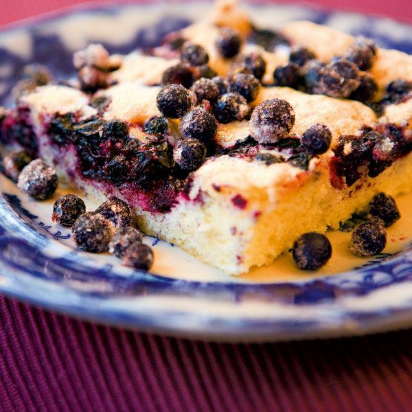 Heidelbeer Blechkuchen Rezept Küchengötter